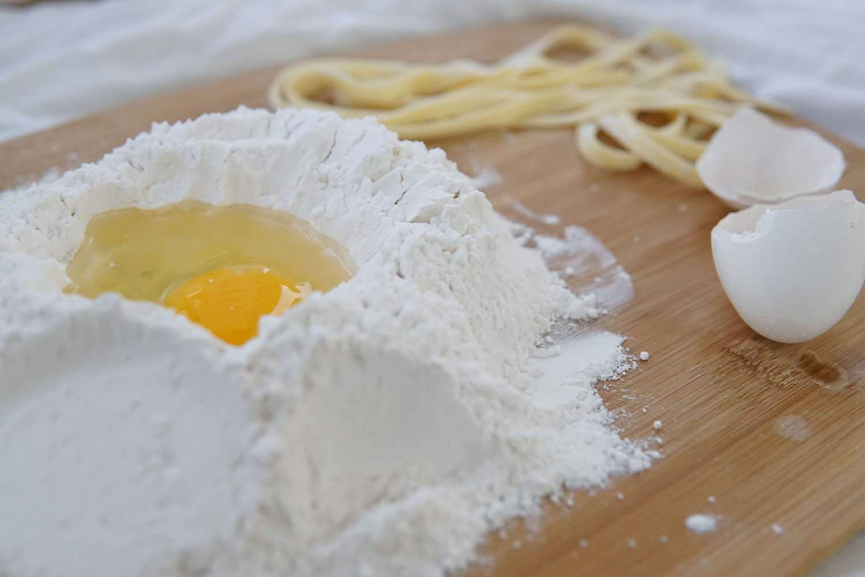 Rezept für leckere Spätzle mit Traubenkernmehl