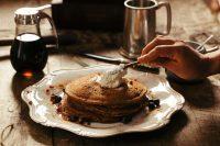 Rezept für leckere Pancakes mit Traubenkernmehl
